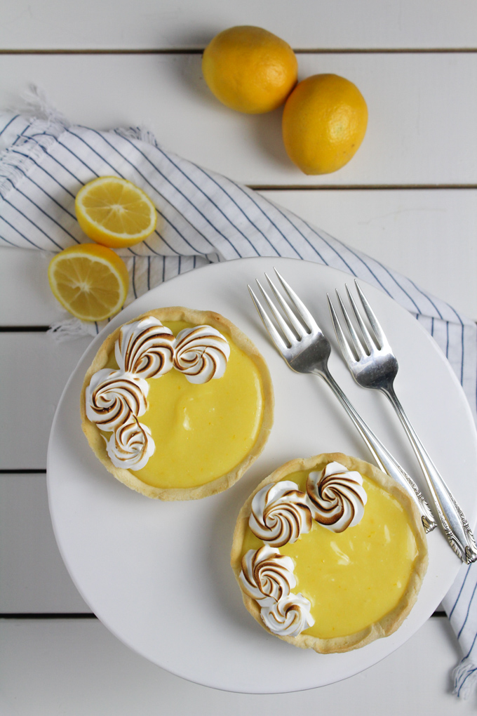 Meyer Lemon Tarts